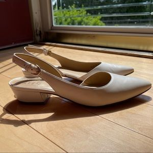 NWT Naturalizer Size 7.5 Banks Leather Heels